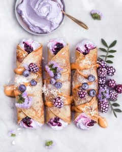 blueberry crepes pancakes breakfast recipes