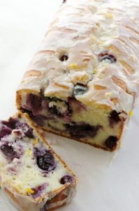 blueberry lemon yogurt cake
