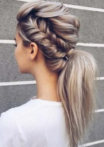 7. Braided pony tails (hello hairstyles 2020)