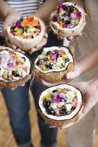 coconuts breakfast bowls