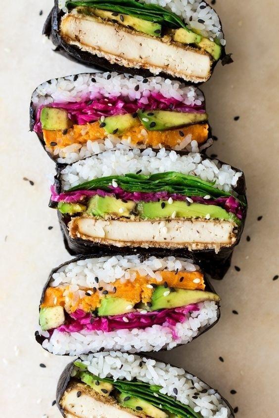 sushi-sandwiches-veggie