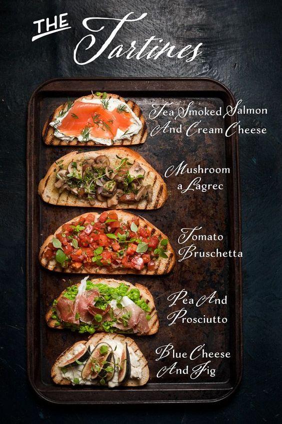 tartine recipes
