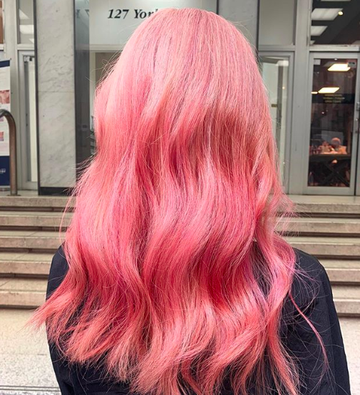 warm-pink-hair-color